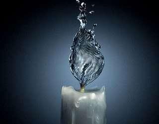 El agua hablaba