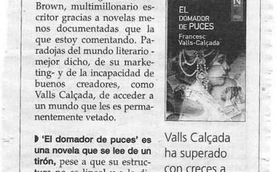 Crítica d' El domador de puces a Mallorca